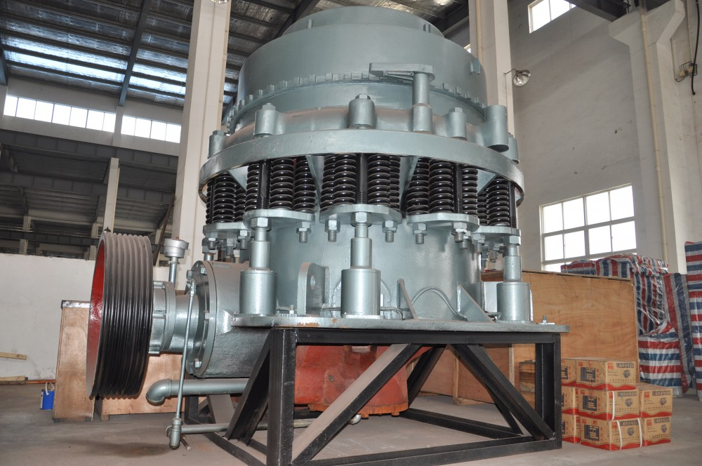 the python cone crusher from sbm